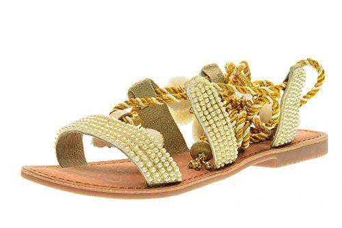 planas mujeres GIOSEPPO 40501 blanco de de Quetzalí Color 24 zapatos los sandalias las 00wqYa