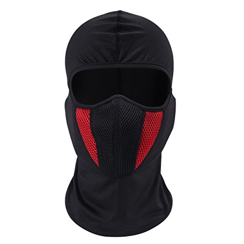 Kalolary Balaclava Moto Face Mask- Windproof Ski Mask ,Outdoor Tactical Airsoft Paintball Cycling Riding Hiking Army Helmet Protection Breathable Full Face (Face Paintballs)