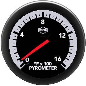 Isspro Gauges (R30032) Pyrometer (Gauge Only)