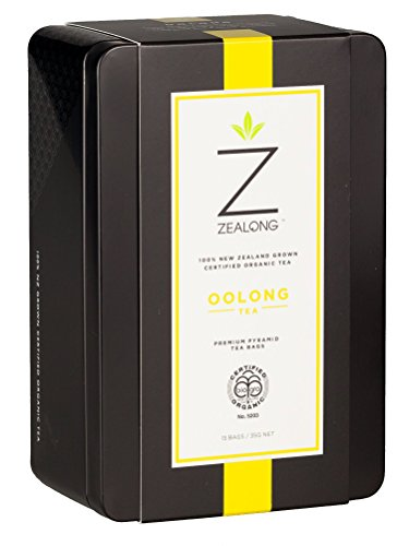 Organic Oolong Tea, Judged Best Single Serve Oolong at the 2017 Global Tea Championships. Biodegradable Premium All-Natural Pyramid Tea Bags by Zealong Creators of The World's Purest Tea