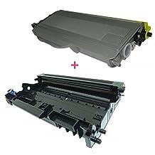 TONER4U ® TN-360+ DR-360 New Compatible Black Toner Cartridge and Drum Unit for Brother TN-360 DCP-7030, DCP-7040, HL-2140, HL-2150N, HL-2170W, MFC-7320, MFC-7340, MFC-7345DN, MFC-7345N, MFC-7440N, MFC-7840
