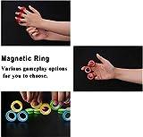 NSKER 3PCS Magnetic Fidget Rings Toys-Cool Idea
