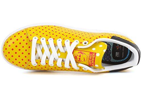 Low adidas Stan Bianco Top Smith Scarpe Giallo Unisex Rosso Adulto 6RtRqw