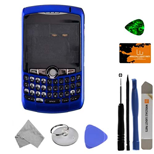 Housing (Complete) for BlackBerry 8300, 8310, 8320 Curve (Dark Blue) with Tool Kit