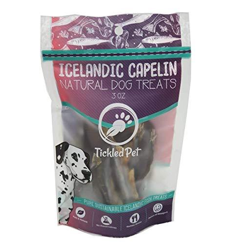 41P8tlqlA4L. SS500  - Whole Wild Caught Capelin Dog Treats
