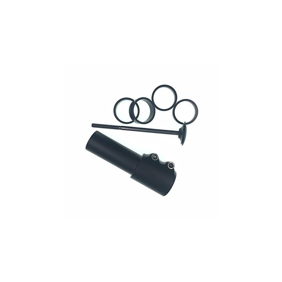 Bicycle Bike Fork Stem Extender Handlebar Riser Adaptor Aluminium Alloy Head Up Adapter