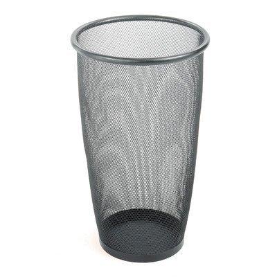 Onyx 9-Gal Round Mesh Wastebasket (Set of 3) [Set of - Wastebasket Onyx Round Mesh