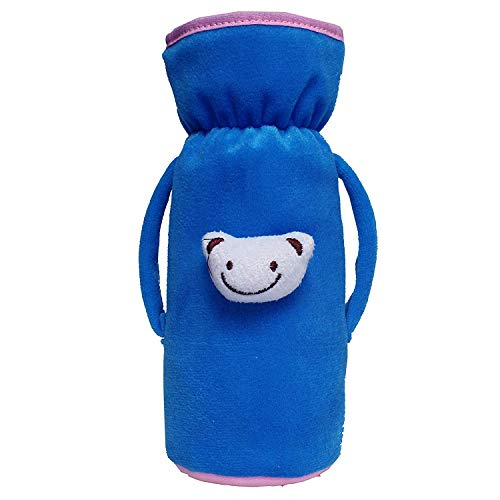 ADRIEL Bringing Joy® Newborn Baby Feeding Bottle Cover with Soft & Attractive Cartoon Patch Bottle Cover – Pack of 1 (Big Size 240 ML)