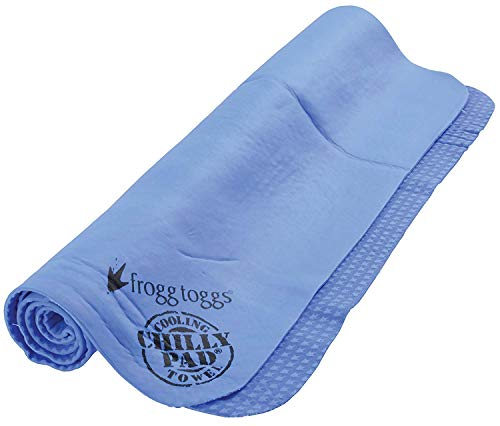 "Frogg Toggs Chilly Pad Cooling Towel, Sky Blue, Size 33"" x 13"""