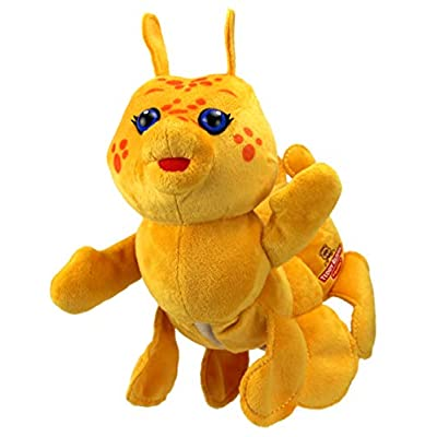 Teddy Ruxpin Hug 'N Sing Plush with Sound - Grubby: Toys & Games