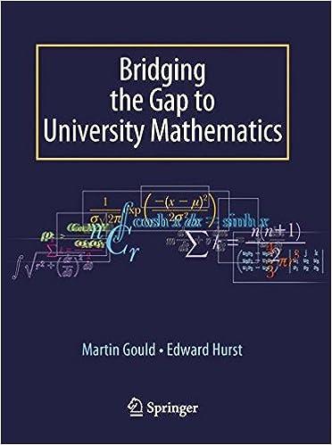 Bridging the Gap to University Mathematics: Amazon co uk