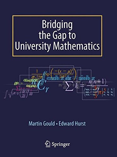 [B.E.S.T] Bridging the Gap to University Mathematics EPUB