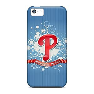 MeSusges TJozHKU4336jqowh Case For Iphone 5c With Nice Philadelphia Phillies Logo Appearance