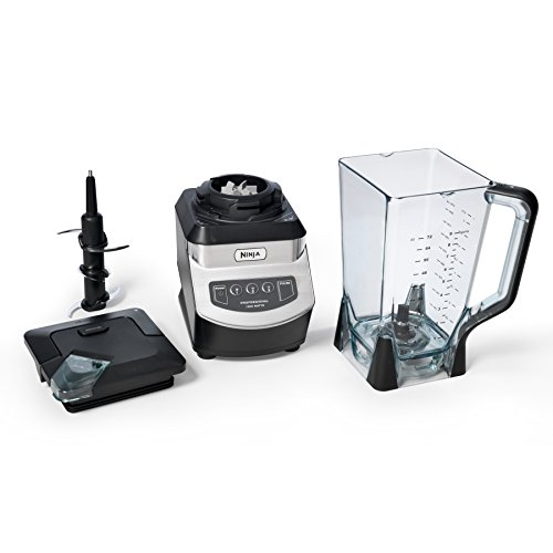 Ninja NJ600WMC Professional Blender, Black Silver