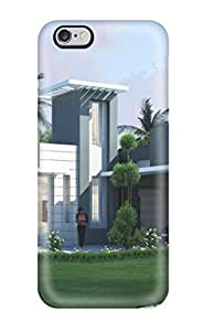 Alicia Russo Lilith's Shop For Iphone 6 Plus Tpu Phone Case Cover(modern Houses)