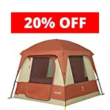 Eureka! Copper Canyon 4 Four-Person, Three-Season Camping Tent