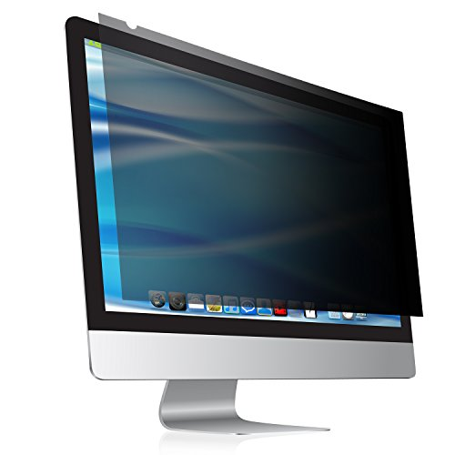 24 Inch computer privacy screen & anti glare protector Fits 24