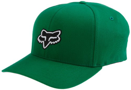 Fox Head Men's Legacy Flexfit Hat, Kelly Green, (Legacy Sports Hat)