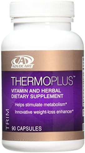 Thermoplus Adovcare Vitamin Dietary Supplement Workout 90 Capsules