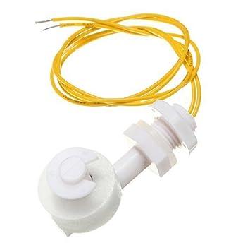 Buwico® Líquido Agua Nivel Sensor de ángulo recto Interruptor de flotador Mini interruptor de flotador NO Contiene mercurio: Amazon.es: Electrónica