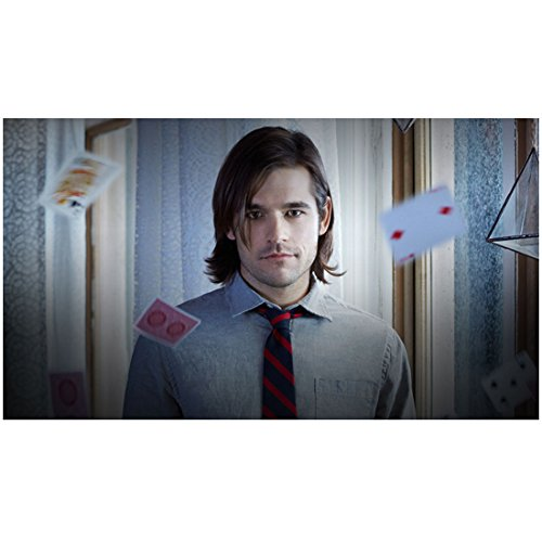 The Magicians Jason Ralph as Quentin levitating cards 8 x 10 Inch Photo