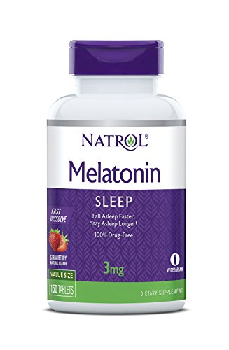 Natrol Melatonin Dissolve Tablets Count product image