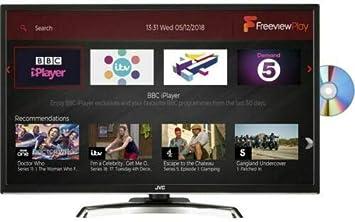 JVC LTC795 - Televisor Smart Full HD (1080p) con Reproductor de DVD y Freeview HD (32 Pulgadas), Color Negro: Amazon.es: Electrónica