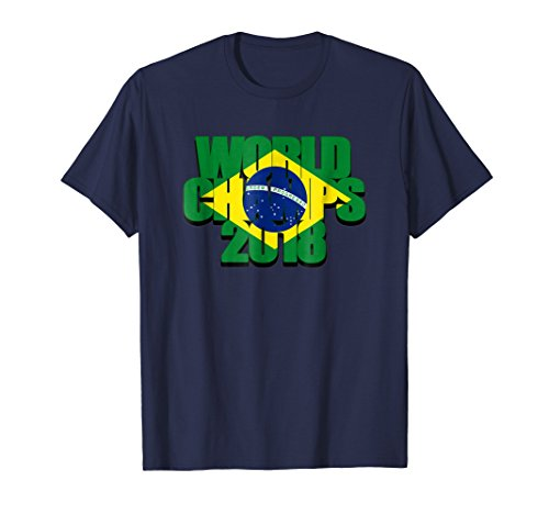 World Cup Champs - Brazil World Champs 2018 Soccer Cup Jersey Fan T-Shirt