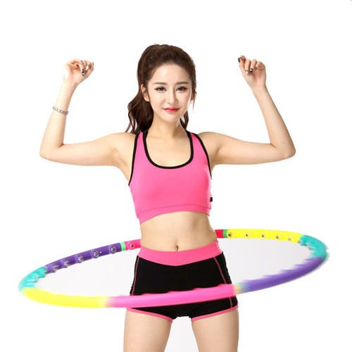 JTW- Soft & Safe Easy to Carry Magnetic treatment hula hoop 2lbs(Dia.37.6'') - Magnetic Therapy Massage Weight Loss Fitness Abdominal Exercise