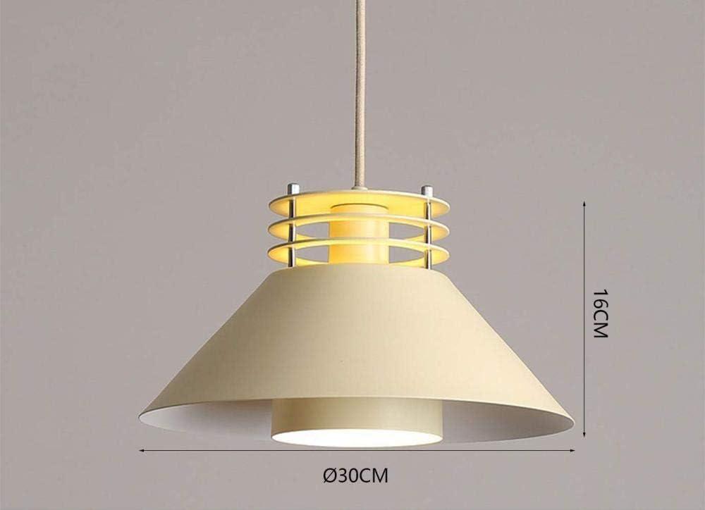 16 CM Moderne Pendentif Lumi/ère Creative Lustre Hauteur R/églable Beige Int/érieur Lampe D/écoration Luminaire Salon Cuisine Restaurant 30