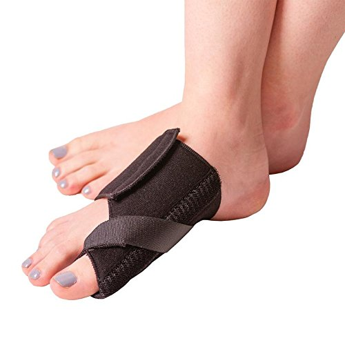 BraceAbility Soft Bunion Splint | Brace to Correct and Straighten Big Toe Alignment, Non-Surgical Hallux Valgus Joint Support Remedy & Arthritis Pain Relief Wrap (Large – Right)