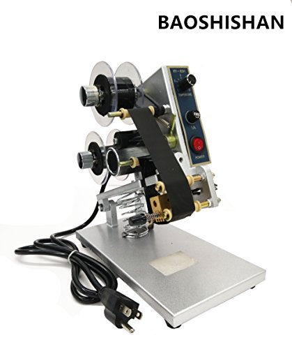 Manual Hand Operated Hot Stamp Printer Coding Machine Dat...