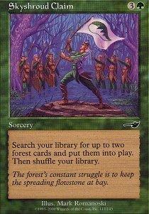 Magic: the Gathering - Skyshroud Claim - Nemesis