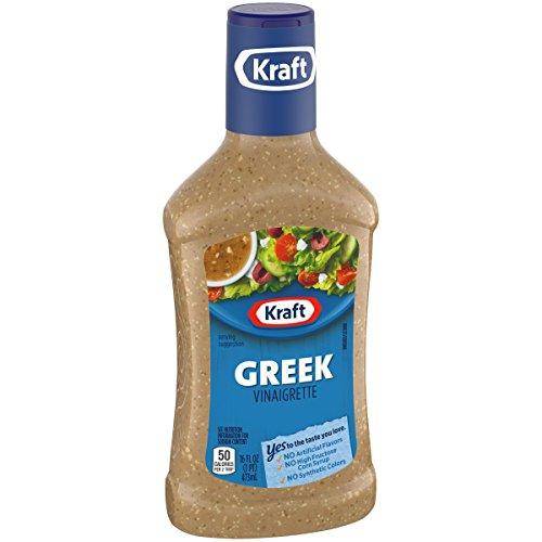 Kraft Greek Vinaigrette Dressing, 16 fl oz Bottle
