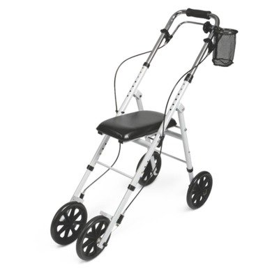 MDS81000 Basic Knee Walker White