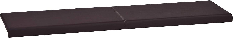 Innenma/ß L morsetto//cuscino di seduta in Bianco Au/ßenma/ß B115cm x T35cm x H6cm // 38cm braun 101 Marrone o Nero