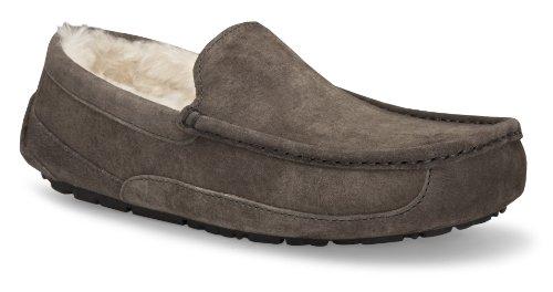 UGG Men's Ascot Slipper, Charcoal, 16 M US (Sandals Mens Uggs)