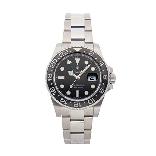 Rolex GMT Master II Mechanical (Automatic) Black Dial Mens Watch 116710LN (Certified Pre-Owned) (Gmt Master Ii Rolex)