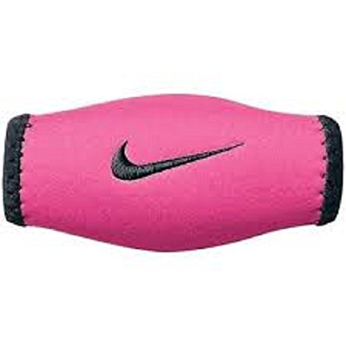 Chin Strap Cover (Nike Football Helmet Chin Shield - Pink / Black - Pink/Black )