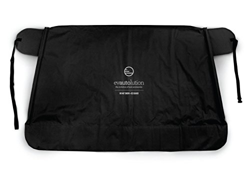 Evautolution Premium Windshield Snow Cover - Guard Your Windshield & Wipers from Snow, Ice and Frost (Now in XL size for trucks and SUVs)