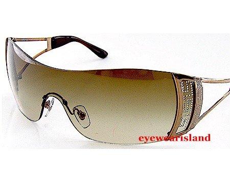 1e98b9cf91c1 Versace 2058-B 2058B 1169 13 Soft Brown Lens   Bronze Frame Size 01 ...