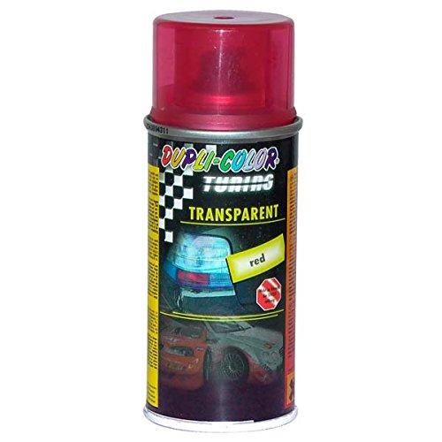 Duplicolor 648908 Spray de Tuning y Pintura Universal, Color Transparente Rojo, 150 ml MOTIP-DUPLI GmbH 95401610