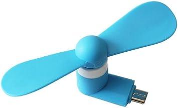 CAOLATOR Ventilador USB Mini Portátiles 5 Pin Ventilador Micro ...