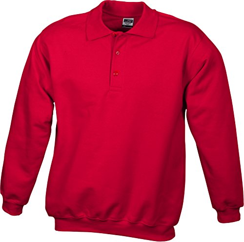 Veste amp; Survêtement Heavy Rouge Nicholson Sweatshirts Polo De James Eg4Zwqq