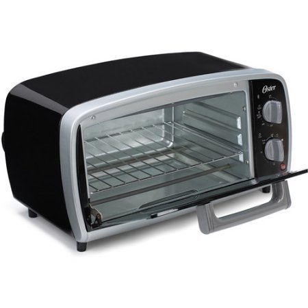New Bakes and Broils 4-Slice Compact size Toaster Oven