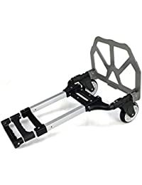 170 lbs Capacity Luggage Cart Aluminum Lightweight Portable Hand Truck with Wheels