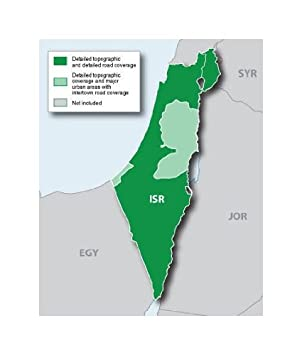 carte gps israel garmin