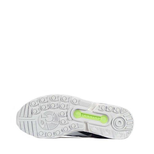 Unisex Senakers Flux ZX adidas Basso a Blu Weave Collo vZ0qB1g