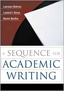 A Sequence for Academic Writing 5th