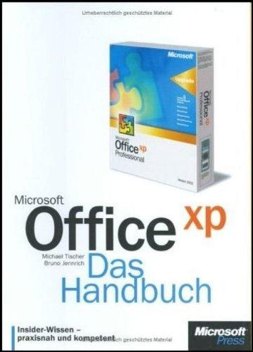 Microsoft Office XP, Das Handbuch, m. CD-ROM by Michael Tischer (2003-09-05)